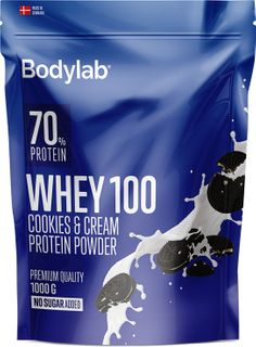Bodylab Whey Protein 100 cookies & cream 1000 g