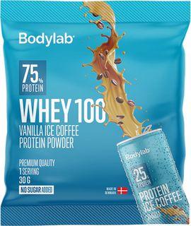 Bodylab Whey Protein 100 vanilka/ledová káva 30 g