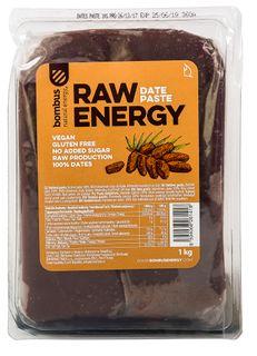 Bombus Raw Energy Datlová pasta 1000 g