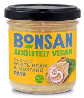 Bonsan Pate bílé fazole/hořčice 140 g