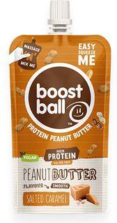 Boostball Arašídové máslo s přidaným proteinem slaný karamel 45 g