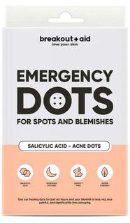Breakout+aid Náplasti na lokální ošetření akné s kyselinou salicylovou