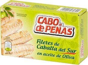 Cabo de peňas Filety z makrely olivový olej 125 g