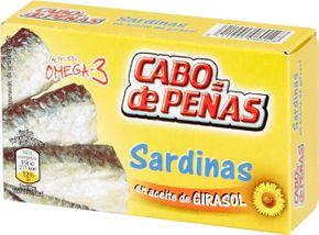 Cabo de peňas Sardinky