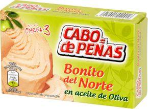 Cabo de peňas Tuňák bílý v olivovém oleji 111 g