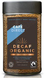 Café Direct Instantní káva bez kofeinu BIO instantní 100 g