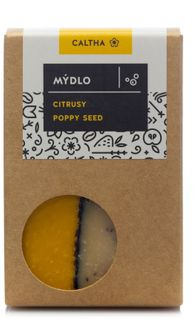 Caltha Mýdlo citrusové poppy seed