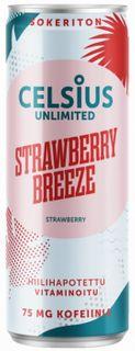 Celsius Energy drink jahoda 355 ml