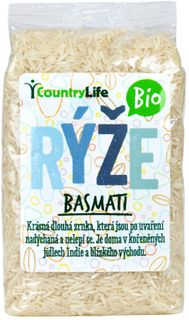 Country Life Basmati rýže BIO