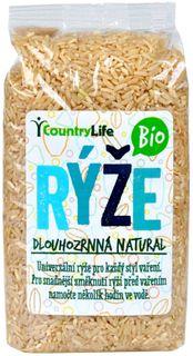 Country Life BIO Dlouhozrnná natural rýže