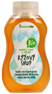Country Life Sirup rýžový BIO