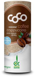 Dr. Antonio Martins Kokosové cappuccino BIO 235 ml