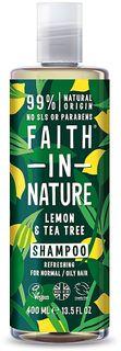 Faith in Nature Šampon citrón a Tea Tree
