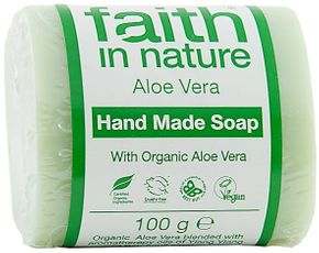 Faith in Nature Tuhé mýdlo Aloe vera BIO 100 g aloe vera