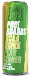FCB AminoPro (ProBrands BCAA Drink) hruška/zázvor 330 ml