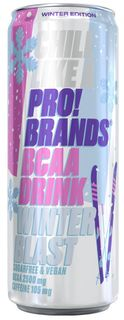 FCB AminoPro (ProBrands BCAA Drink) winter blast (jahoda/malina) 330 ml