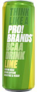 FCB AminoPro (ProBrands BCAA Drink) limeta 330 ml