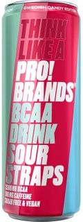 FCB AminoPro (ProBrands BCAA Drink) sour straps 330 ml