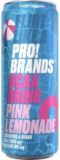 FCB AminoPro (ProBrands BCAA Drink) růžová limonáda 330 ml