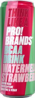 FCB AminoPro (ProBrands BCAA Drink) vodní meloun/jahoda 330 ml