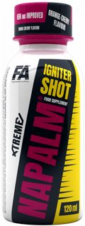 Fitness Authority Xtreme Napalm Igniter Shot pomeranč/třešeň 120 ml