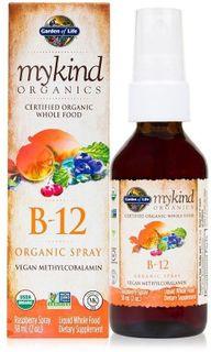 Garden of Life Organic Vitamin B12