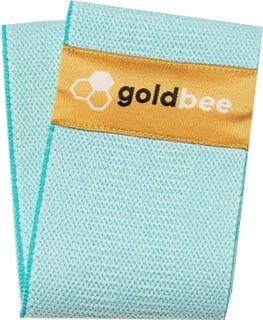 GoldBee Bavlněná odporová guma modrá střední odpor