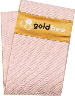 GoldBee Bavlněná odporová guma růžová střední odpor
