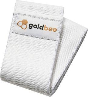 GoldBee Bavlněná odporová guma bílá nízký odpor