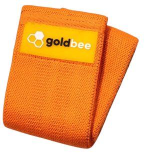GoldBee Textilní odporová guma M oranžová střední odpor