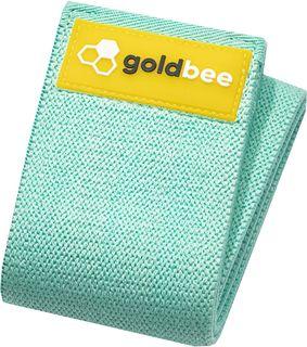 GoldBee Textilní odporová guma M tyrkysová střední odpor