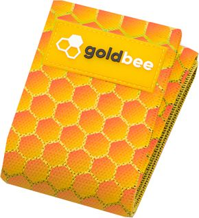 GoldBee Textilní odporová guma M honeycombs střední odpor