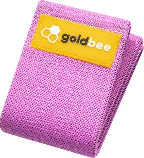 GoldBee Textilní odporová guma M fialová střední odpor
