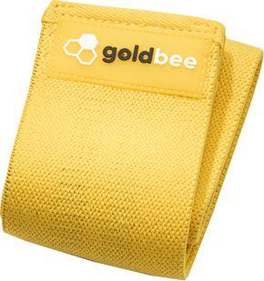 GoldBee Textilní odporová guma M žlutá střední odpor