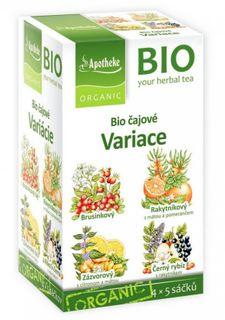 Green Apotheke Čajové variace čaj 4v1 BIO