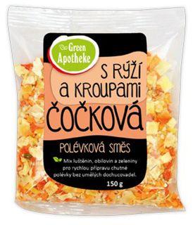 Green Apotheke Polévková směs čočková s rýží a jáhlami 150 g