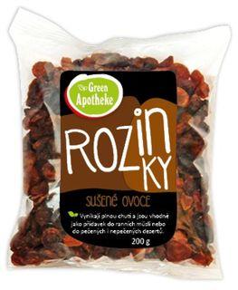 Green Apotheke Rozinky nesířené 200 g