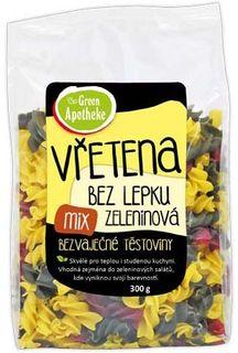 Green Apotheke Vřetena bez lepku zeleninová mix 300 g