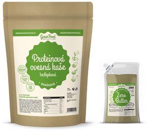 GreenFood Proteinová ovesná bezlepková kaše vanilka 500 g