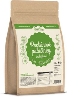 GreenFood Proteinové palačinky bezlepkové čokoláda/lískový ořech 500 g