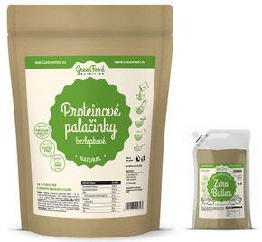 GreenFood Proteinové palačinky bezlepkové jablko/skořice 500 g