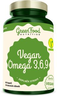 GreenFood Vegan Omega 3, 6, 9