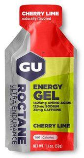GU Energy Roctane Gel třešeň/limetka 32 g - Zkrácená trvanlivost
