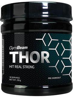 GymBeam Thor citron/limetka 210 g