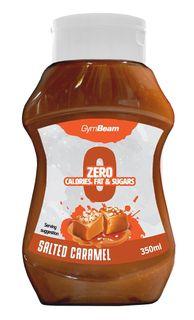 GymBeam Zero Calorie Syrup slaný karamel 350 ml