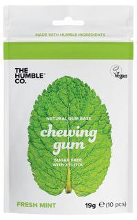 Humble Brush Žvýkačky bez cukru s xylitolem máta 10 kusů (19 g)