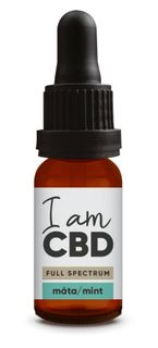 I am CBD Full spectrum konopný olej