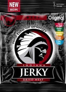 Indiana Jerky Hovězí original 25 g