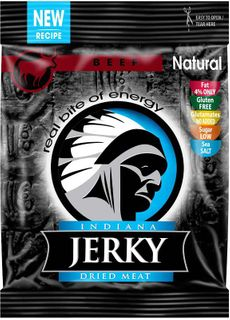 Indiana Jerky Hovězí natural 25 g