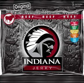 Indiana Jerky Hovězí original 60 g